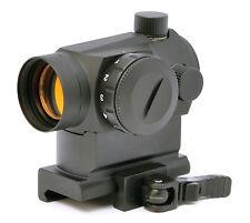 Hammers CQB Co-witness Mini Micro MRO Red Dot Scope Sight w/ QD Picatinny Mount