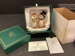 r john wright Bride & Groom forever NEW IN BOX