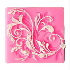 Silicone Floral Lace Fondant Chocolate Sugar Craft Cake Baking Mold DIY♫