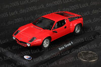 Maserati Bora Group 4 1973 RED 1/43 Diecast Model