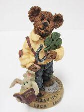 "Boyds #227743 - ""Chance O'Sullivan...Feelin' Lucky"" Bearstone Collection Figure"