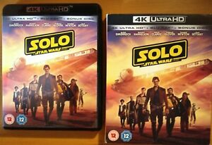 SOLO: A STAR WARS STORY (4K UHD) + SLIPCOVER. 3-Discs