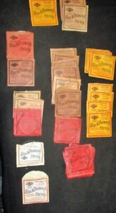 Vintage Black Diamond Guitar Strings Lot of 32 E and A strings