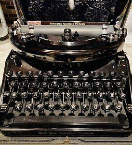 Antique 1936 Remington Cyrillic Key Typewriter That Works!! Ukranian Alpha!Rare!