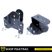 "MaxTrac 4"" Rear Hanger Lowering Kit 423740 For 1999-2007 Ford F350 Super Duty"