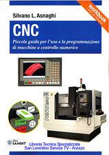 Libro CNC guida per uso programmazione macchine a controllo numerico in officina