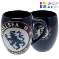 CHELSEA FC TEA TUB MUG CUP BLUE COFFEE CERAMIC OFFICIAL FOOTBALL SOCCER CLUB NEW