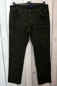 Jeans Jeckerson Uomo Taglia 56 Verde Denim Pantalone Man Cotone Logo Italy Pant