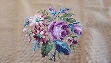 Complete Cross Stitch Flower Pattern