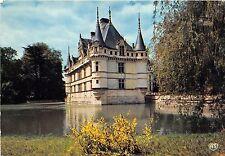 BR2644 Azay le Rideau Le chateau se mirant dans un bras de l Indre   france