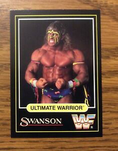 1991 Swanson WWF Ultimate Warrior