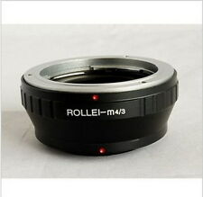Brand NEW Mount adapter For Rollei lens to Micro4/3 (M4/3) digital cameras