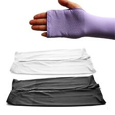 Outdoor Arm Skin Sun Protector Fingerless Sleeves Gloves Golf Car Driving Cover