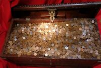 1000 COIN BAG OF UNSEARCHED WHEAT PENNIES US Lincoln Cents Penny ESTATE HOARD *