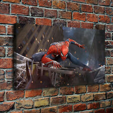 """Spider Man 4 Paintings HD Canvas Print 24""""x42"""" Home Decor  Wall Art Pictures"""