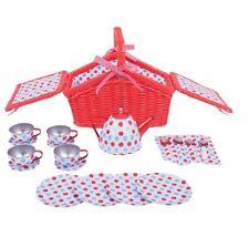Dînette pique nique métal- jeux et jouets - jeux d'imitation - cuisine enfant **