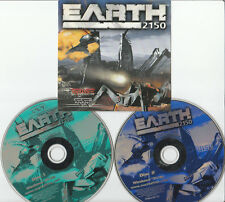 EARTH 2150: VINTAGE 2 CD PC GAME WITH FREE POST