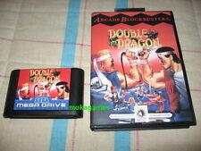 Double Dragon English Version Sega Genesis Megadrive Mega Drive PAL NTSC