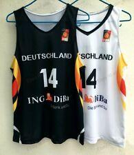 Custom Dirk Nowitzki #14 Team Germany Jersey Bundesrepublik Deutschland DBB