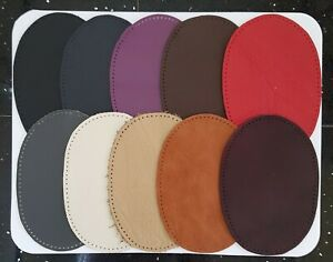 LEATHER ELBOW / KNEE PATCHES   10 COLOUR CHOICE AND THREE SIZES TO CHOOSE FROM