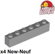 10x LEGO Light Bluish Gray LEGO Brick 1x6-3009 Part Piece Star Wars Castle