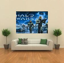 Halo WARS XBOX 360 PC PS3 NOUVEAU géant grand imprimé Poster art image mur G019