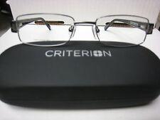 CRITERION CM02  EYEGLASS FRAMES Eyewear  GUNMETAL  Size 53-18-140