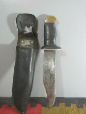 New ListingLarge Ww2 Theater Knife and Leather Sheath