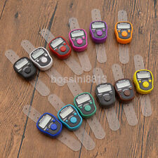 Mini Digital LCD LED Electronic Digital Golf Finger Hand Ring Tally Row Counter