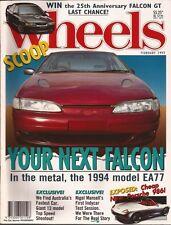 Wheels Feb 93 Falcon Boxster 928 GTS RX7 3000GT M5 HSV GTS XJ6 Sport  News: - EA
