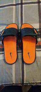 Lebron Miami Hurricane Sandals Size 11