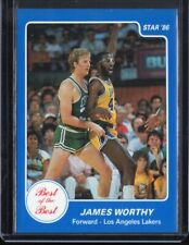 1986 Star Best of the Best #15 James Worthy NM-MT