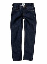Quiksilver Boys Resolver Rinse Youth Rinse 8-16 Jeans Sz 26 EQBDP03106
