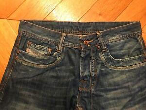 jean pantalon coton bleu marque DIESEL taille M