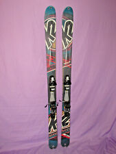 K2 COOMBACK 102 backcountry skis 174cm w/ Tyrolia SP PRO 120 DEMO ski bindings ~