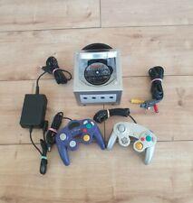 Nintendo GameCube Konsole silber inkl. Super Mario Kart + 2 Controller