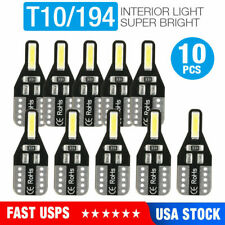 10-PACK T10 LED License Plate Light Bulbs 6000K Super Bright White 168 2825 194