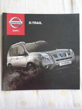 Nissan X Trail range brochure Jul 2012 South African market