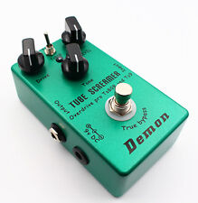 Hand-made upgraded TS9 TS808 Overdrive/Distortion Tube Screamer 2 in 1 true bypa