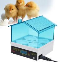 4 Eggs Electric Incubator Temperature Control Digital Display Automatic