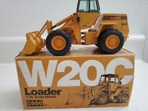 NZG W20C Case Loader 1:35 Scale In Box Previously Displayed