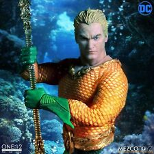 "One: 12 Collective DC Comics AQUAMAN 6"" Action Figure Mezco In Stock"