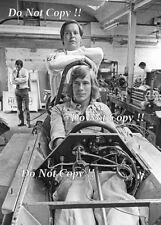 James Hunt & Lord Hesketh F1 Portrait Photograph