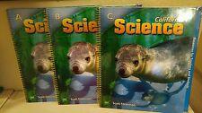 Scott Foresman California ScienceTeachers Edition 2nd Grade 2 Homeschool NEW LOT
