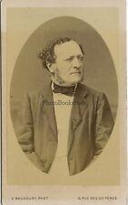 Louis Buffet maire de Mirecourt France cdv par Maunoury Vintagealbumine