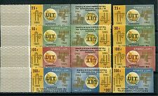 Guinea 298/301 Kehrdrucksatz + B - Ausgabe postfrisch / UIT ..............1/3533