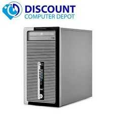 HP ProDesk Desktop Computer Tower PC Core i5 Windows 10 Pro 8GB 1TB 3.2GHz WiFi