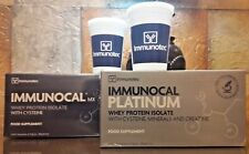 (1) IMMUNOCAL PLATINUM (1) IMMUNOCAL CLASSIC by IMMUNOTEC FREE CUP FAST SHIPPING