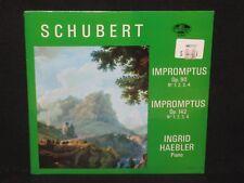 INGRID HAEBLER ~ Schubert Impromptus Op. 90 & 142 (SEALED) ~ U.S. ALLEGRO 88051