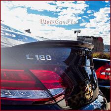 PAINTED 2016 On M-Benz C205 C-Coupe C300 C350 C63 A Type Rear Trunk Spoiler Lip